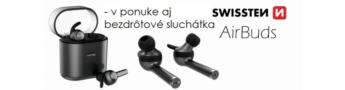 bezdrôtové sluchátka